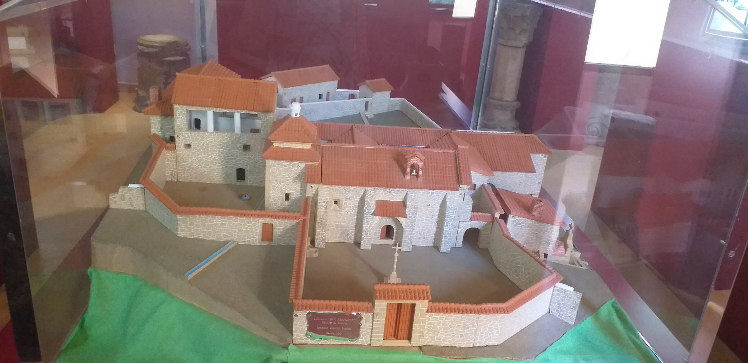 Maqueta Convento San Francisco Belvís de Monroy
