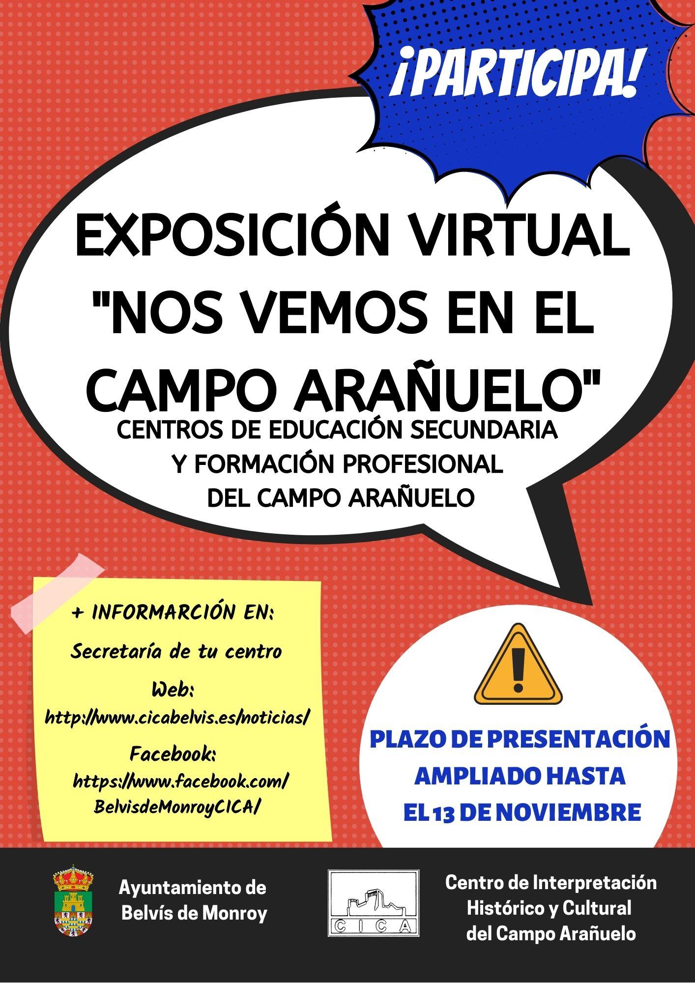 CONVOCATORIA: Exposición virtual «Nos vemos en el Campo Arañuelo»